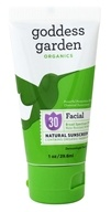 Goddess Garden - Facial Natural Sunscreen 30 SPF