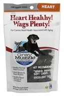 Gray Muzzle Heart Healthy! Wags Plenty! Canine Aging Support