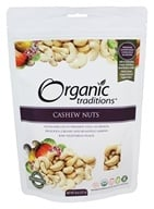 Organic Traditions - Cashew Nuts - 8 oz.