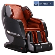 Infinity - Massage Chair Iyashi Black on Caramel