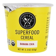 Vigilant Eats - Organic Superfood Oat-Based Cereal Banana