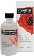 Kensington Apothecary - Rose Water Exfoliating Tonic -