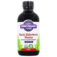Oregon's Wild Harvest - Organic Black Elderberry Honey