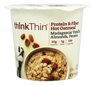 thinkThin Protein and Fiber Hot Oatmeal