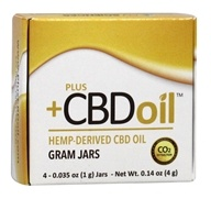 Plus CBD Oil - Gold Formula Concentrate 4g