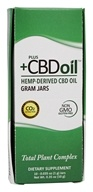 Plus CBD Oil - Total Plant Complex Concentrate
