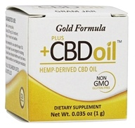 Plus CBD Oil - Gold Formula Concentrate 1g