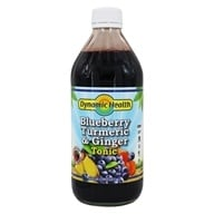 Dynamic Health - Turmeric and Ginger Tonic Blueberry