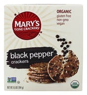 Mary's Gone Crackers - Organic Crackers Black Pepper