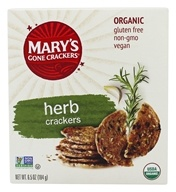 Mary's Gone Crackers - Organic Crackers Herb -