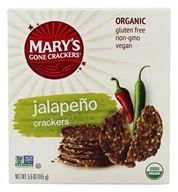 Mary's Gone Crackers - Organic Crackers Hot 'n