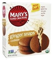 Mary's Gone Crackers - Organic Cookies Ginger Snaps