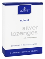 Activz - Silver Natural Soothing Throat Lozenges Honey