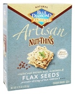 Blue Diamond Growers - Artisan Nut Thins Flax