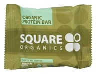 Squarebar - Organic Protein Bar Chocolate Coated Almond
