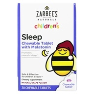 Children's Sleep With Melatonin Supplement