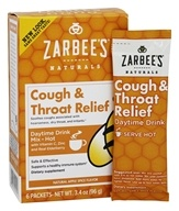 Zarbee's - Cough & Throat Relief Daytime Drink