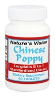 Nature's Vision - Chinese Poppy 500 mg. -