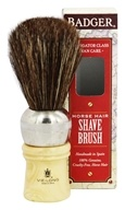 Man Care Horse Hair Shave Brush