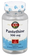 Kal - Pantethine 300 mg. - 30 Vegetarian