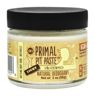 Primal Pit Paste - Natural Deodorant Light Unscented