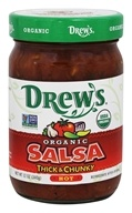 Drew's - Organic Thick and Chunky Hot Salsa