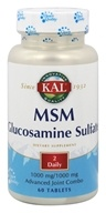Kal - MSM Glucosamine Sulfate - 60 Tablets