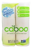 Caboo - 100% Bamboo and Sugarcane Bath Tissue - 12 Roll(s)