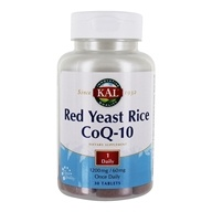 Kal - Red Yeast Rice CoQ-10 - 30
