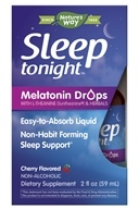 Enzymatic Therapy - Sleep Tonight Melatonin Drops Cherry