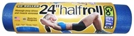 GoFit - Half Foam Roller Blue - 24 in.