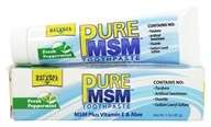 Natural Balance - PureMSM Toothpaste Fresh Peppermint -