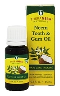 TheraNeem Naturals Neem Tooth & Gum Oil