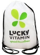 LuckyVitamin Gear - Spread the Wellness Cinch Bag