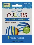 ColorKitchen - Real Food Decorative Coloring Bright Blue