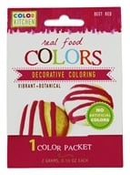 ColorKitchen - Real Food Decorative Coloring Beet Red