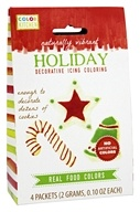 DROPPED: ColorKitchen - Holiday Decorative Icing Coloring - 4 Packet(s)