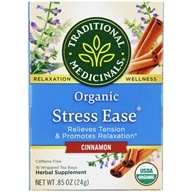 Traditional Medicinals - Organic Stress Ease Tea Cinnamon