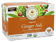 Traditional Medicinals - Organic Ginger Aid Tea -