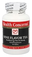 Health Concerns - Nine Flavor Tea - 90