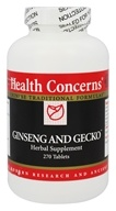 Health Concerns - Ginseng and Gecko - 270