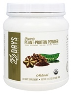 22 Days Nutrition - Organic Plant-Protein Powder Natural