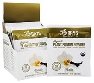 22 Days Nutrition - Organic Plant-Protein Powder Vanilla