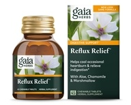 Gaia Herbs - Reflux Relief - 45 Chewable