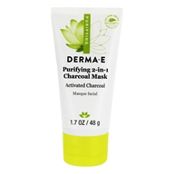 Derma-E - Purifying 2-in-1 Charcoal Mask - 1.7