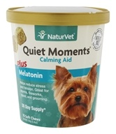 NaturVet - Quiet Moments Plus Melatonin - 70