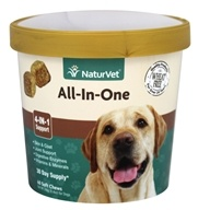 NaturVet - All-In-One - 60 Soft Chews