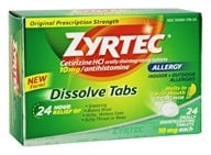 Zyrtec - Allergy 24 Hour Antihistamine Citrus Flavor