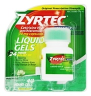 Zyrtec - Allergy 24 Hour Antihistamine - 40