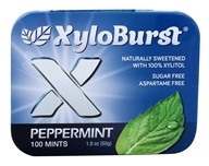 XyloBurst - Xylitol Mints Peppermint - 100 Piece(s)